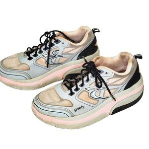 GDEFY Gravity Defyer Athletic Shoes Gray Pink Wome